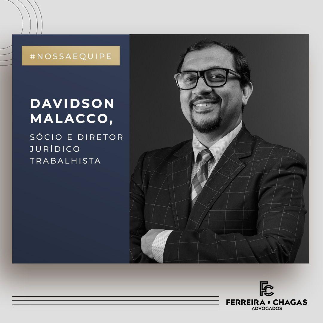 #NOSSAEQUIPE   Davidson Malacco
